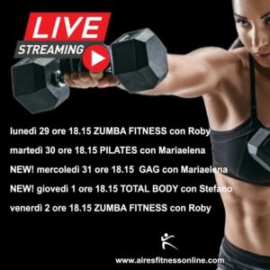 calendario attività Live
